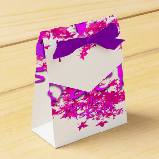 Monday Tent Favor Box