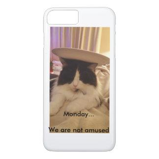 Monday... We are not Amused iPhone 7 Plus Case