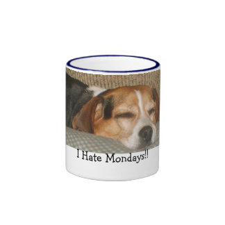 Mondays Beagle Mug