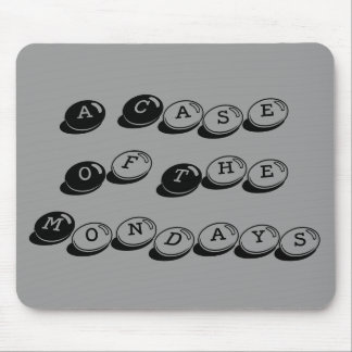 Mondays Mouse Pad