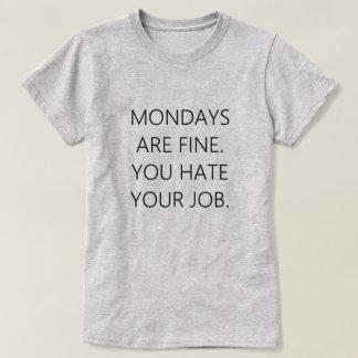 Mondays Tshirts