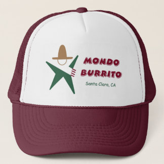 Mondo Burrito Trucker hat
