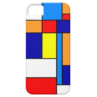 Mondrian #8 barely there iPhone 5 case