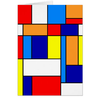 Mondrian #8 card