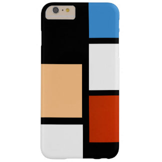 Mondrian Barely There iPhone 6 Plus Case