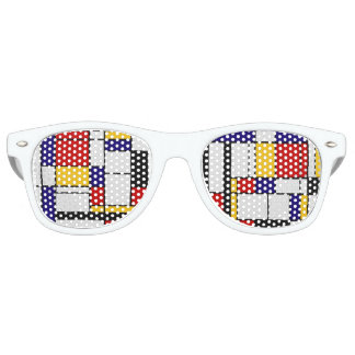 Mondrian Color Blocks Sunglasses