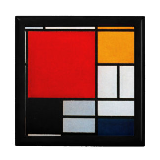 Mondrian - Composition with Large Red Plane Gift Box