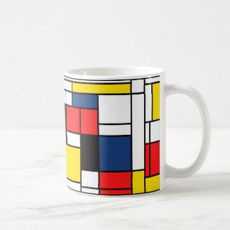 Mondrian Drinks here! Basic White Mug