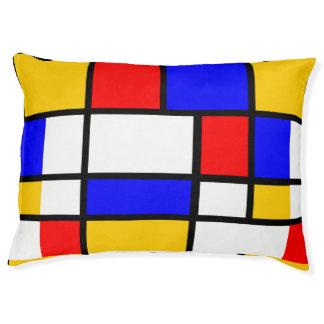 Mondrian inspiration pet bed