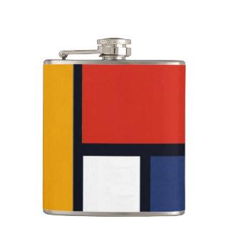 Mondrian Inspired Flasks