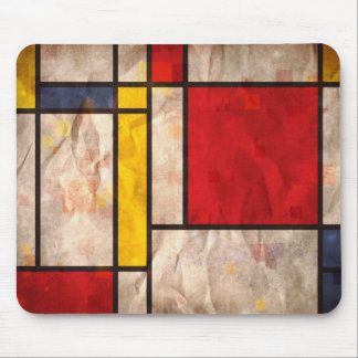 Mondrian Inspired Mousemat