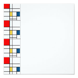 Mondrian Invitation