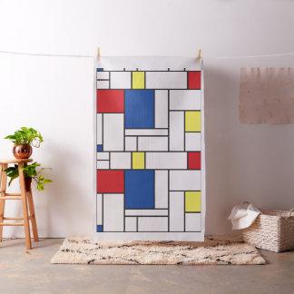 Mondrian Minimalist De Stijl Art Custom Fabric