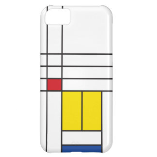 Mondrian Minimalist De Stijl Art iPhone 5 CaseMate iPhone 5C Cover
