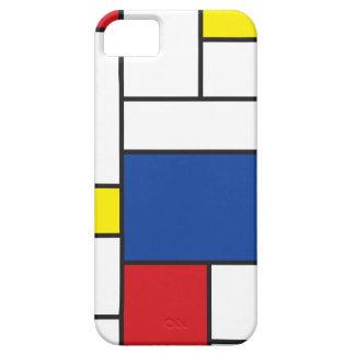 Mondrian Minimalist De Stijl Art iPhone 5 CaseMate Case For The iPhone 5