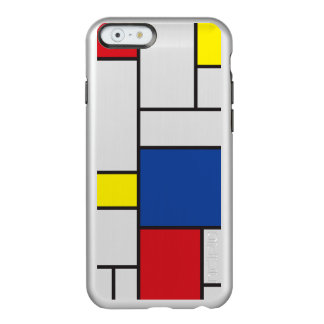 Mondrian Minimalist De Stijl Art iPhone 6 case Incipio Feather® Shine iPhone 6 Case