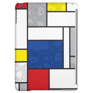 Mondrian Minimalist De Stijl Art Retro Circles