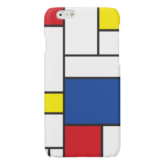 Mondrian Minimalist De Stijl Modern Art iPhoneCase