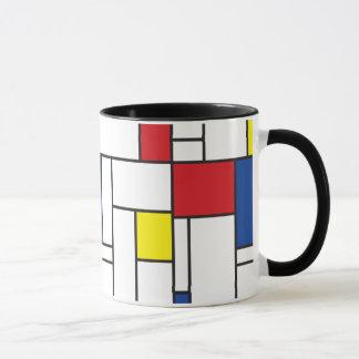 Mondrian Minimalist De Stijl Modern Modern Art Mug