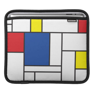 Mondrian Minimalist De Stijl Simple Art Sleeve Sleeves For iPads