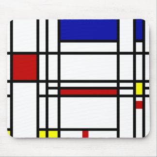 Mondrian Modern Art Mousepad