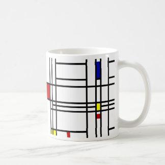 Mondrian Modern Art Mug