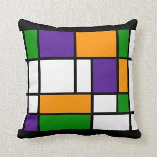 Mondrian - Secondary Colors Pillow