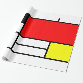 Mondrian style art