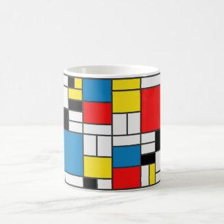Mondrian Style Mug