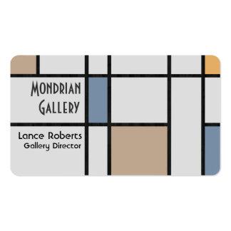 Mondrian's Modern Business Card Templates
