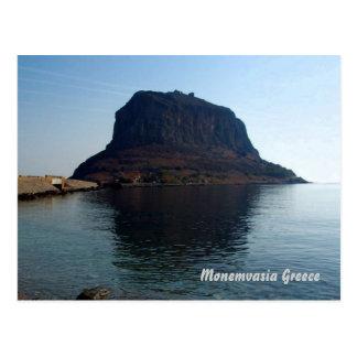 Monemvasia greece postcard