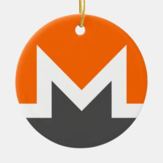 Monero Circle Hanging Ornament