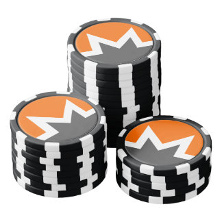 Monero Dark Poker Chip