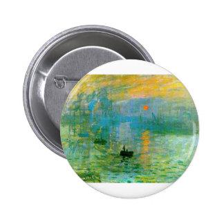 Monet 6 Cm Round Badge