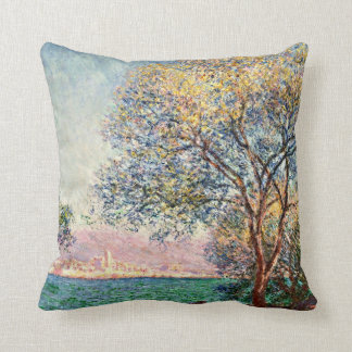 Monet: Antibes in the Morning artwork Cushion