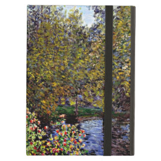 Monet art: A Corner of the Garden at Montgeron iPad Air Case