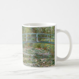 Monet Art Bridge over a Pond of Water Lilies Coffee Mug