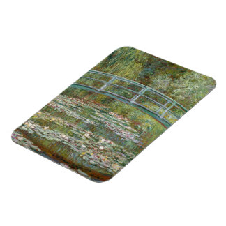 Monet Art Bridge over a Pond of Water Lilies Magnet