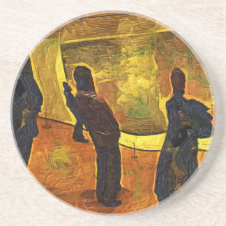 Monet at the Museum of Modern Art NYC Coaster
