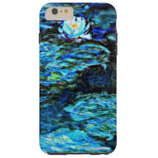 Monet - Blue Water Lilies Tough iPhone 6 Plus Case