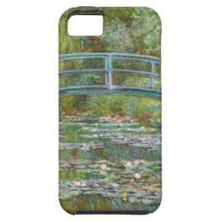 Monet Bridge Over Pond iPhone 5 Case