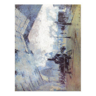 Monet, Claude Bahnhof Saint Lazare in Paris um 187 Postcard