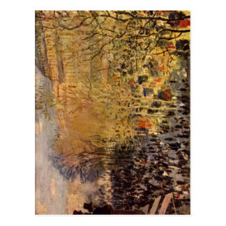 Monet, Claude Boulevard des Capucines in Paris 187 Postcard