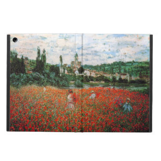 Monet Field of Red Poppies Cover For iPad Air