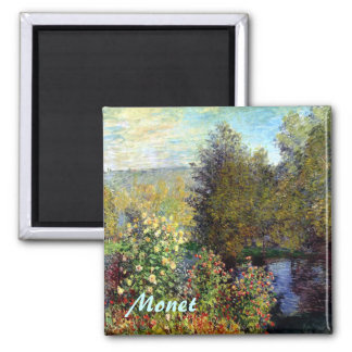 Monet Fine Art Garden Magnet Fridge Magnet