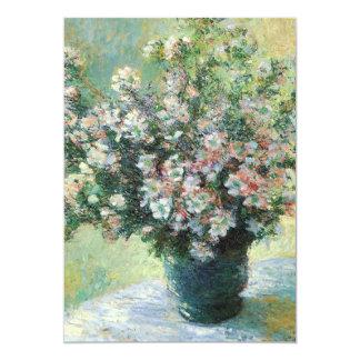 Monet Flowers Birthday Party Invitation