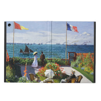 Monet Garden at Sainte Adresse iPad Case