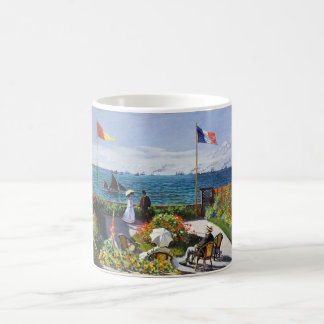 Monet Garden at Sainte Adresse Mug