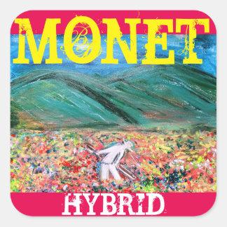 MONET HYBRID SQUARE STICKER