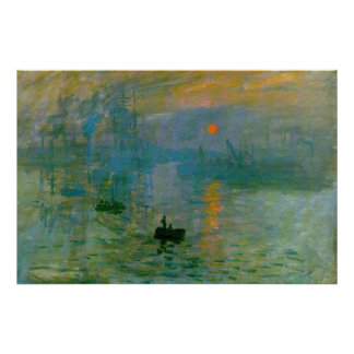 "Monet ""Impression, Sunrise"" Fine Art Print"